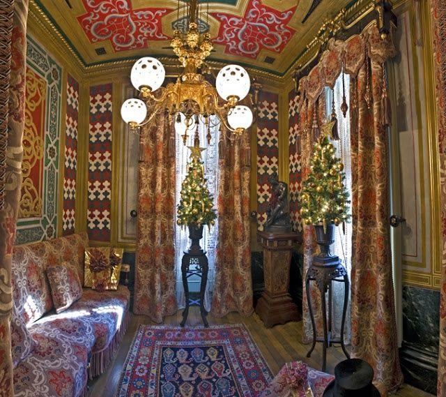Victoria Mansion, Portland, Maine | Victoria Mansion, Portland Maine The  Turkish Smoking Room