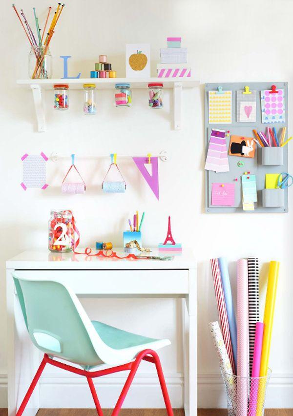 Bedroom idea for teenagers : Neon  bellebebes.co.uk