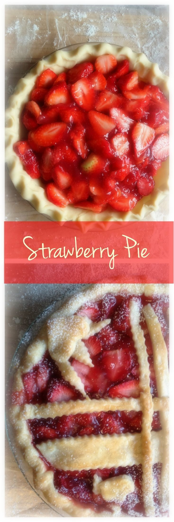 Strawberry Pie, Maple Syrup and Joie de Vivre!  I just won't eat fresh strawberries any more without maple syrup.  The sweet tang of freshly sliced berries dripping with the rich golden silky flavour of real maple syrup, well just try it.  I guarantee you