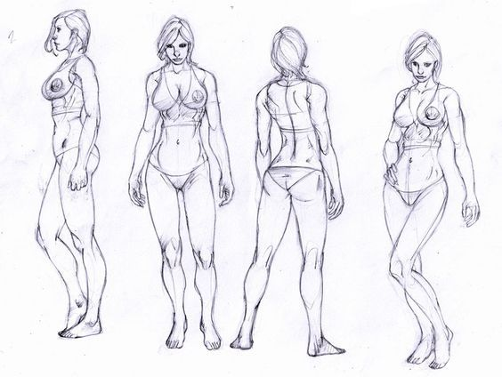 39 best dibujo figura humana images on Pinterest | Draw, Anatomy ...