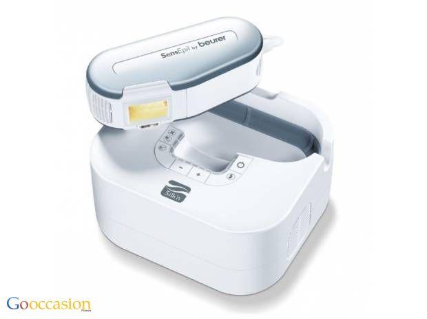 Epilateur à lumière pulsée SensEpil HL100 Beurer  - http://www.go-occasion.fr/epilateur-a-lumiere-pulsee-sensepil-hl100-beurer/