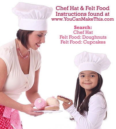 Crochet Baby Chef Hat Pattern Free : 17 Best images about Chef hats !! on Pinterest Sewing ...