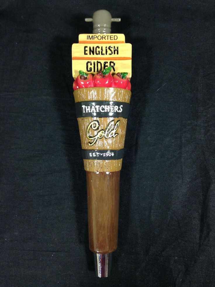 Thatchers Gold Imported English Cider Beer Tap Draft Draught Handle Mancave Bar