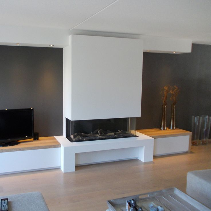 25 beste idee n over tv open haard op pinterest kelder for Decoratie naast tv