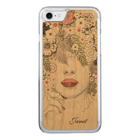 Mother Nature Abstract Wooden iPhone 7 Case - click to get yours right now!