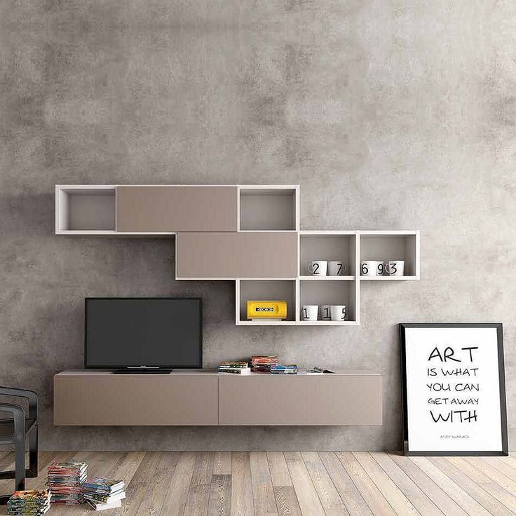 Modern design Tv media unit 'Minimalist' by Morassutti by myitalianliving http://discoverdmci.com