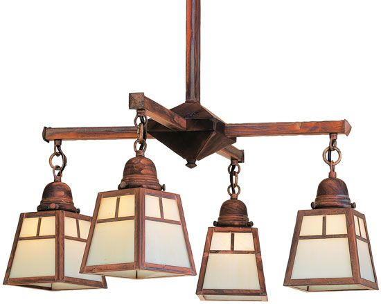 arroyo craftsman aline craftsman chandelier