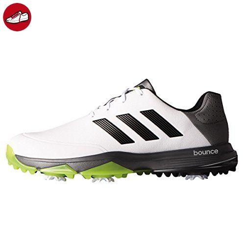 Adidas adipower Bounce WD Golf Schuhe, Herren, Weiß/Schwarz/Lime, 43.3 - Adidas schuhe (*Partner-Link)
