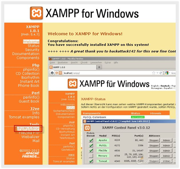 Installing Joomla 3.0 on local host using XAMPP