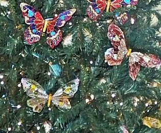 butterfly christmas tree how to decorate a butterfly themed christmas tree 1389