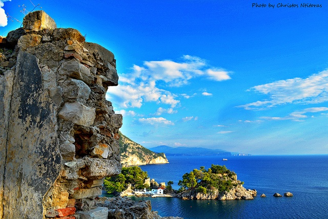 View of the Islet of Parga from the Castle by Christos Ntitoras (Ditoras), via Flickr
