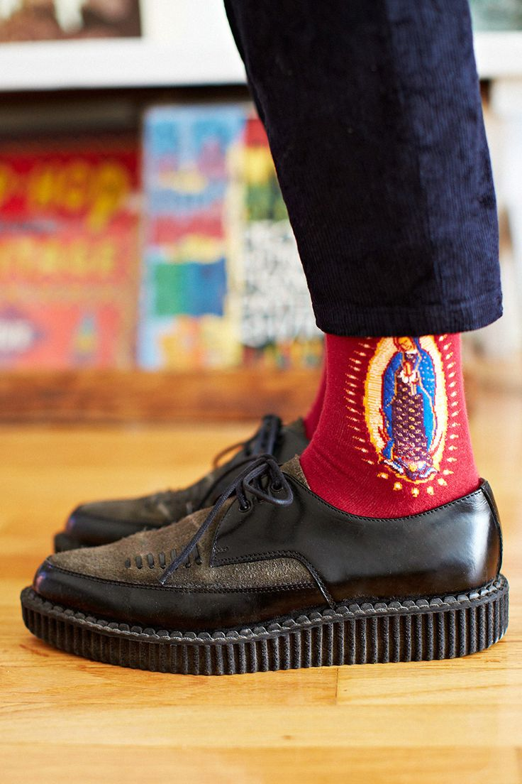 Guadalupe socks with Creepers!