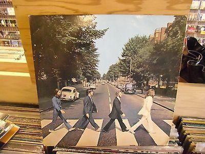 BEATLES Abbey Road vinyl LP Apple Records VG+ [GERMAN]