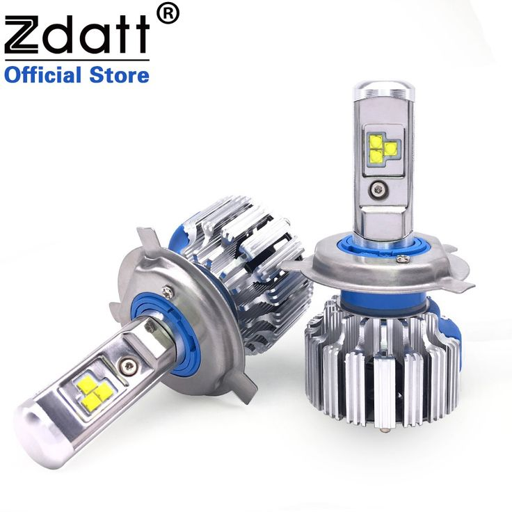Zdatt 2 Stücke Super Helle H4 Led-lampe Canbus 80 Watt 8000Lm Auto Scheinwerfer H1 H7 H8 H9 H11 Auto Led-Licht 12 V Nebelscheinwerfer Autos