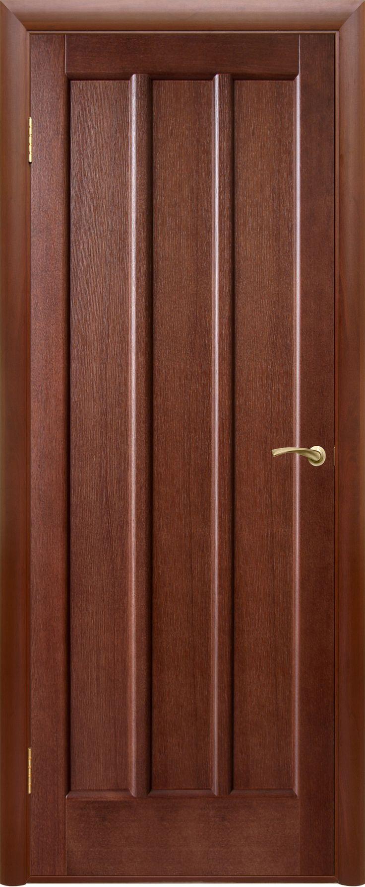 """Межкомнатная дверь """"Троя"""", пг, темный орех"""