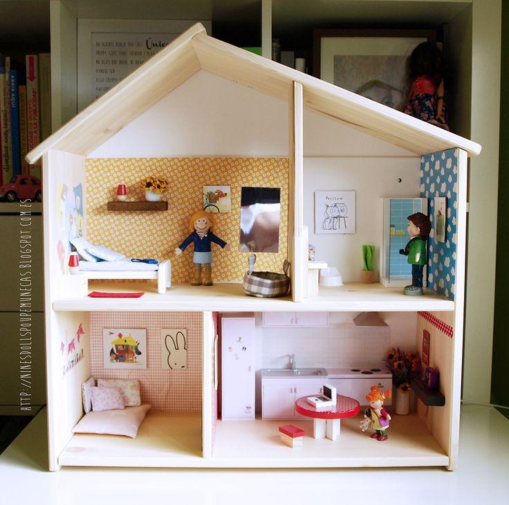 die besten 25 ikea dollhouse ideen auf pinterest. Black Bedroom Furniture Sets. Home Design Ideas