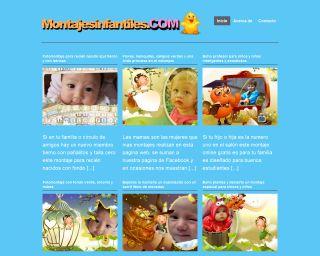 Excelente pagina web para hacer montajes y fotomontajes para bebes y niños fácilmente, gratis¡
