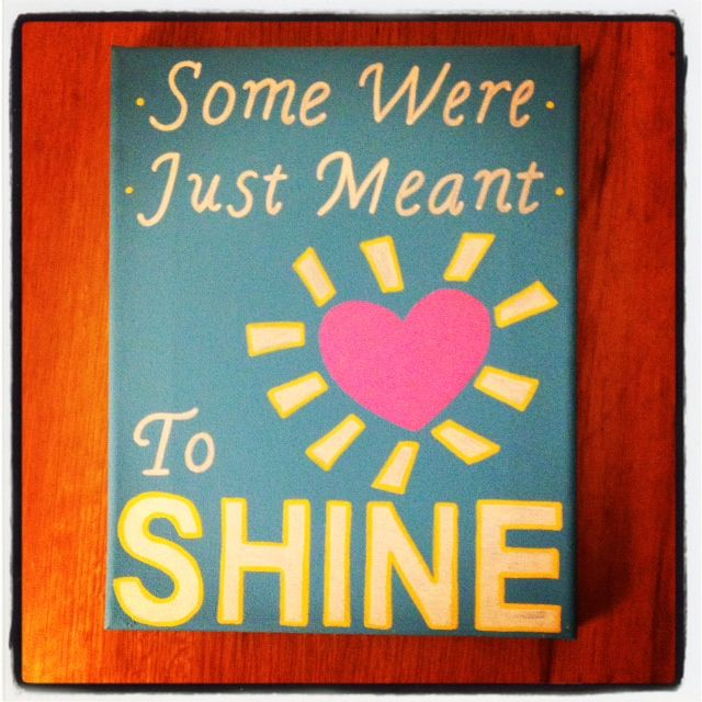 some were just meant to shine; heart sunshine; alpha xi delta
