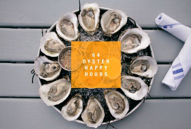 NYC Oyster Happy Hours