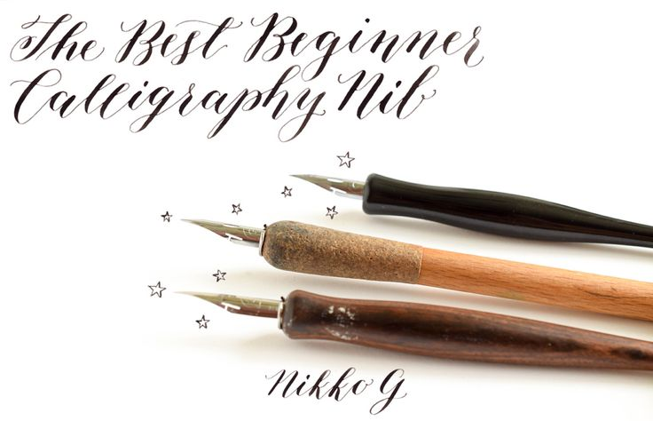 The Best Beginner Calligraphy Nib Postman 39 S Knock The O