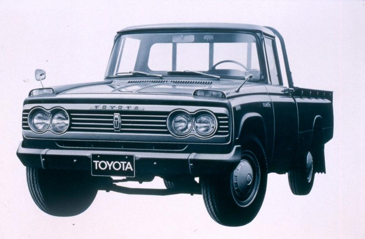 1966 - Toyota trucks launch in the U.S. with the introduction of the Toyota Stout.