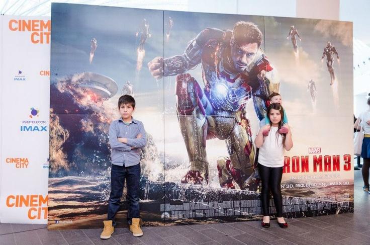 Avanpremiera Iron Man 3 din București