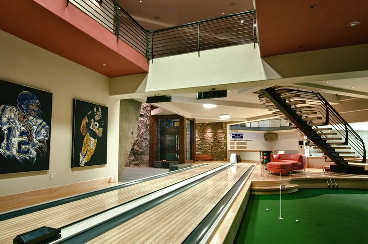 17 Best Images About Home Bowling Alleys Amp Game Rooms On