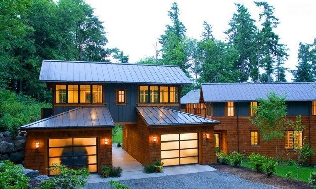 If You Are A Homeowner Considering Installing A New Metal Roof On Your House Then Undoubtedly One Of Th House Exterior Island House Modern Farmhouse Exterior