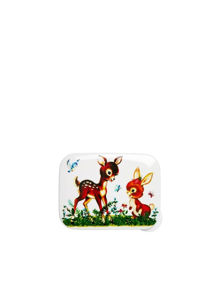 ASOS | Rectangular Woodland Creatures Lunch Box at ASOS