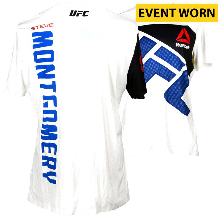 Steve Montgomery Ultimate Fighting Championship Fanatics Authentic UFC 193: Rousey vs. Holm Event-Worn Walkout Jersey - Fought Daniel Kelly in a Middleweight Bout - $159.99