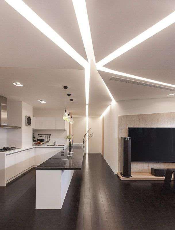 Woow Factor Kitchen Ceiling Design Modern Kitchen Island Modern Kitchen Island Design