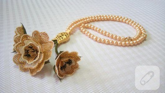 Needle lace, looks so beautiful...