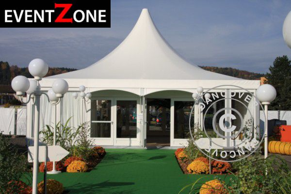 PAGODA TENT PRO + 10X10 M EVENTZONE Professional rental quality marquee.