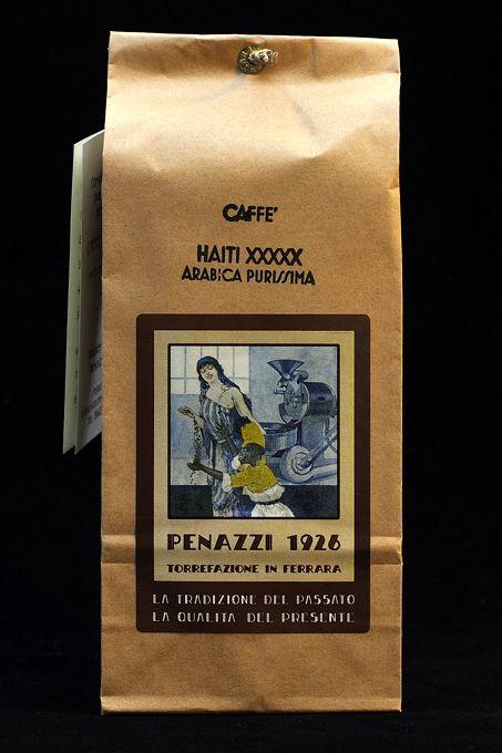 Gustate la potenza e il lungo retrogusto dell'Haiti XXXXX, Monorigine di Arabica, biologico naturale. In vendita su  Enjoy the powerful, long lasting taste of Haiti XXXXX Single Origin Arabica Coffee.  For sale on   http://penazzi-1926-coffee-roastery-ferrara.myshopify.com/products/haiti-xxxxxx