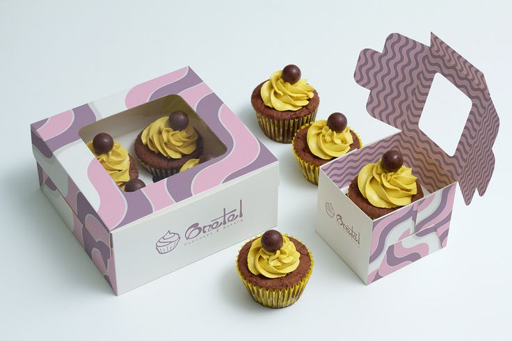 Gretel Cupcakes (Stationary & Packaging design) on Behance