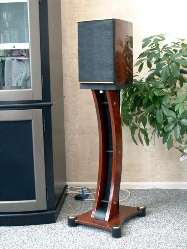 wooden speaker stands - Google Search