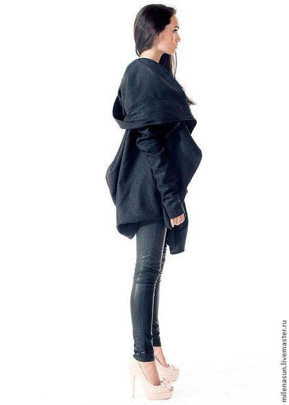 Дизайнерское осеннее пальто, весеннее пальто на заказ, модное пальто
