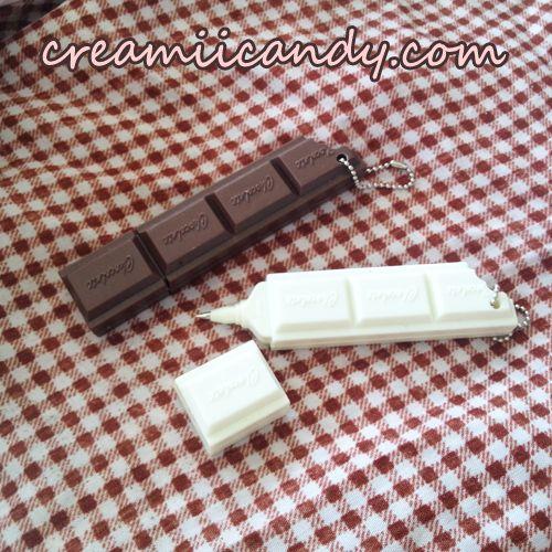 chocolate cute pens stationery kawaii things