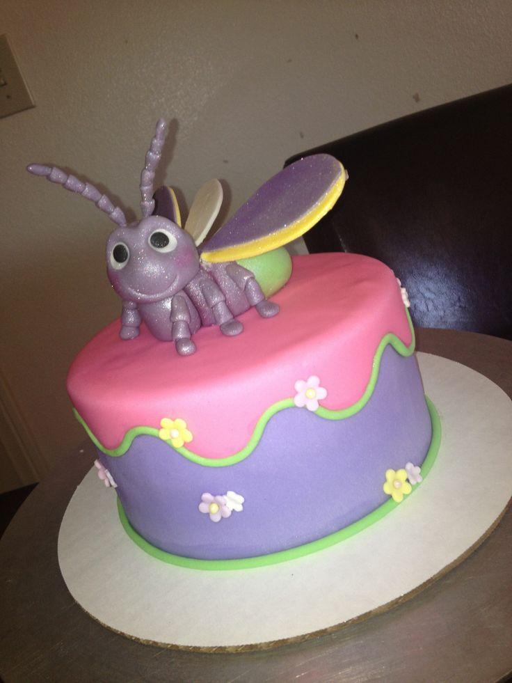 Tinkerbell S Lightning Bug Cake Bugs Bug Cake Cake