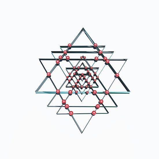Pure Positive Energy - Sri Yantra. Click to see this on various items you can enjoy or buy as a print.