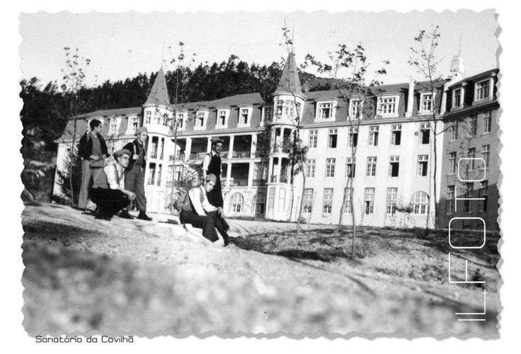 Sanatório das Penhas da Saúde, Covilhã, Serra da Estrela.