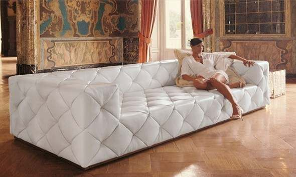 Top Graded Real Genuine Italy Italian Leather Sofa Suite