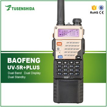 136-174 400-480mhz Dual Band Walkie Talkie 2016 Professional 10w Baofeng UV-5R Plus