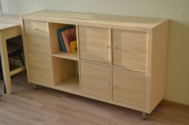 Ikea Kallax Series Shelving Unit With Door Amp Drawers Chest