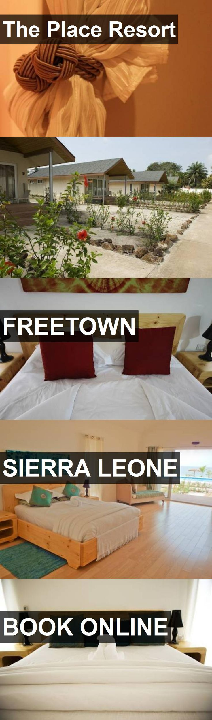 Hotel The Place Resort in Freetown, Sierra Leone. For more information, photos, reviews and best prices please follow the link. #SierraLeone #Freetown #travel #vacation #hotel