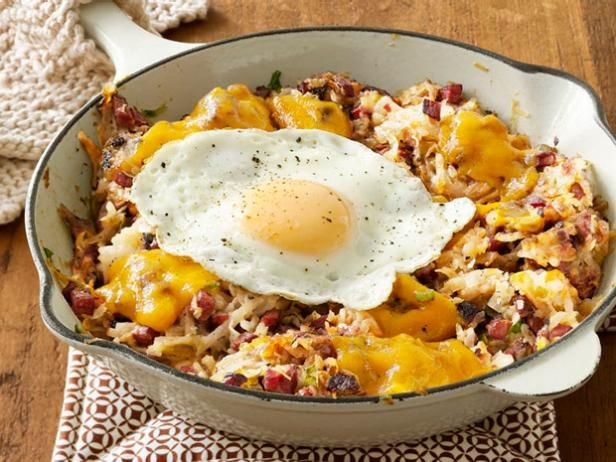 Get Corned Beef Hash Recipe from Food Network.....COOK CORNED BEEF IN INSTANT POT, REMOVE, COOK CUBED POTATOES IN BEEF LIQUID TILL ALMOST DONE