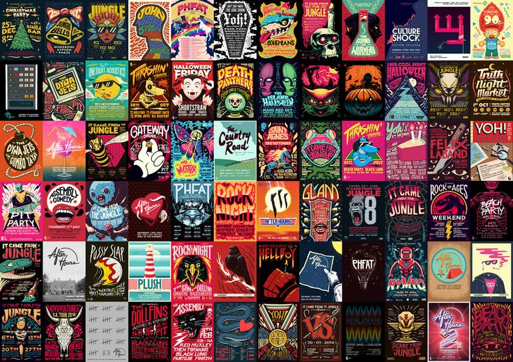 Made you look! Speaking with Ian Jepson on the art of poster design