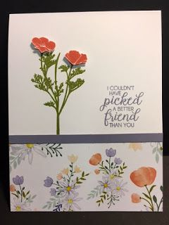 My Creative Corner!: Wild about Flowers, Beautiful Boutique, Delightful Daisy, Friendship Card, Stampin' Up!, Rubber Stamping, Handmade Cards