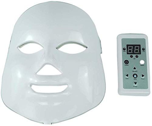 Neue Inmindboom 7 Farbe LED Photon Therapie Gesichtsmaske Lichtverjüngung Anti-Falten Gesicht Beauty Spa Instrument Tägliche Hautpflege Maske Hautverjüngung | Kollagen | Anti Aging | Anti-Falten | Anti-Narbe online – Skin Care