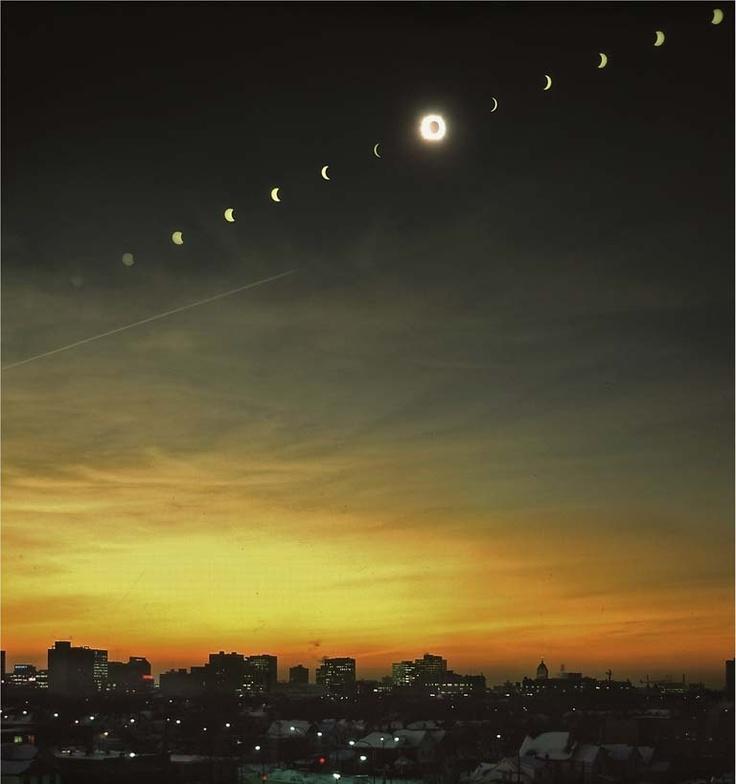 reinopin: Full Eclipse, Winnipeg, Canada © 1979 Henry Groskinsky